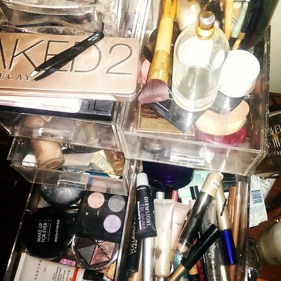 MAKEUPOBSESSION drawers for days some would say I have a problem I say Makepaddiction isn't a problem