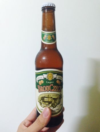 Beer Lager Drinks Czech Beer 체코맥주brou czech. home brewing이라는데 톡쏜다 굳