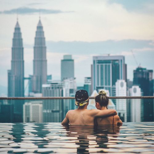 no place to call home, on purpose. Kuala Lumpur Malaysia Stray Today Traveling Wanderlust Love Petronas Twin Towers Connected By Travel
