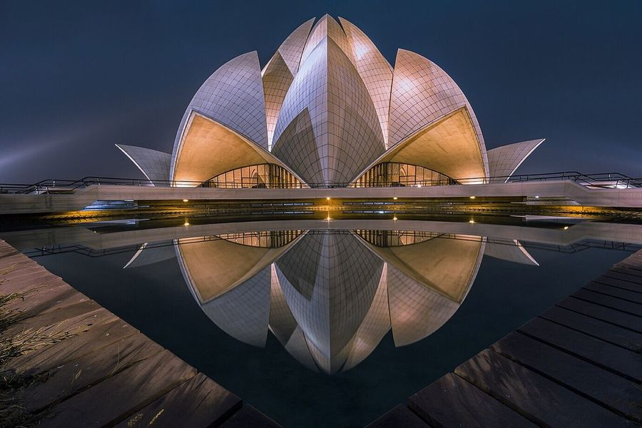 Lotus temple in blue hour.... Illuminated Architecture Travel Destinations Built Structure Building Exterior Cityscape EyeEm Gallery Urban Landscape EyeEm Best Shots - Architecture Architectural Detail Urbanphotography Reflection_collection Reflection Blue Hour Architectural Feature Architecture_collection EyeEm Best Shots - Landscape Travel Photography Nightphotography Long Exposure EyeEm Best Shots Exterior Architecturelovers Monument Delhi The Architect - 2018 EyeEm Awards The Architect - 2018 EyeEm Awards