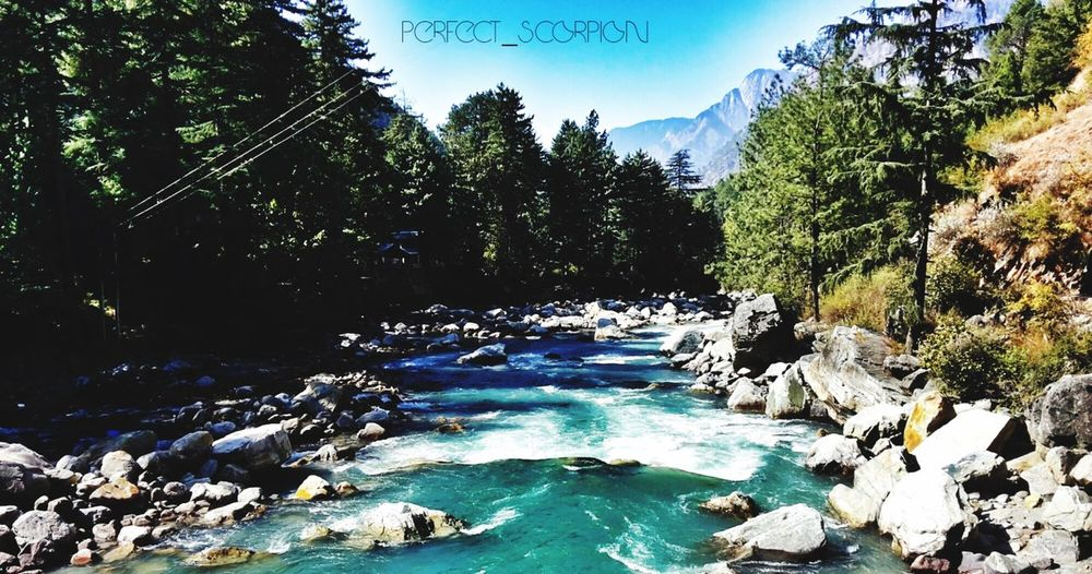 The silent stories carried with the river... Screaming through the mountains... Nature Naturelovers Nature Photography River View Riverscape Mountains Mountain View Himalayas Traveling Travel Photography