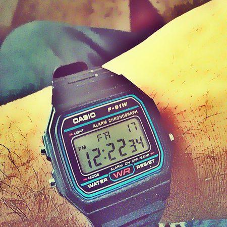 Friday... F91w Casiowatches Watchesofinstagram Watchgeek Patientcare Jipmer Opddays