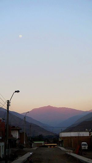 Maravillas del Perú. Land Vehicle Transportation Dusk Mode Of Transport Car No People Sky Nature Sunset Outdoors Day Tranquility Nature
