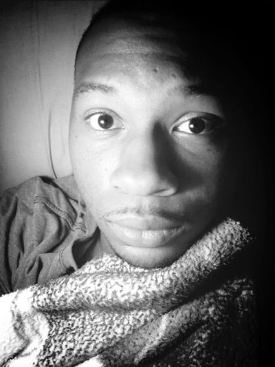 Selfie Goodmorning Pretty Dude Black And White