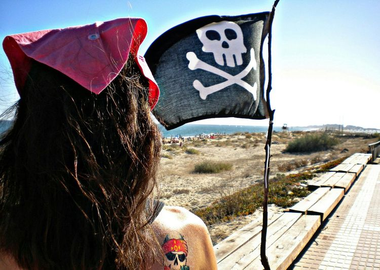 Pirate Girl Life Is A Beach Summer Days Shillouette Loving The Sun!