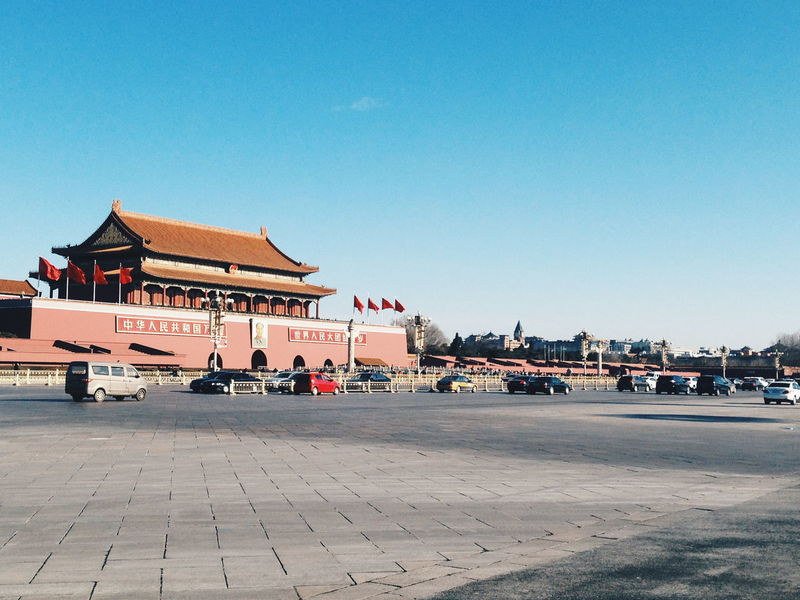 Tiananmen Square Beijing, China Landscape Streetphotography Street China Travel Citycenter Travelgram FirstEyeEm Architecture