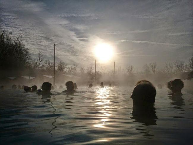 Balaton - Hungary Fog Mans Reflection Reflections In The Water Sun