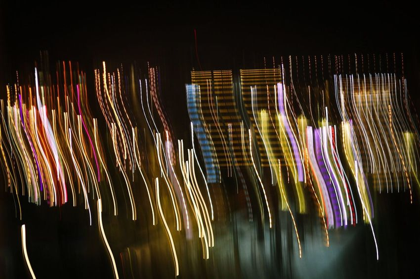 Show your true colors Colors Night Long Exposure Illuminated Motion Light Trail Multi Colored Speed
