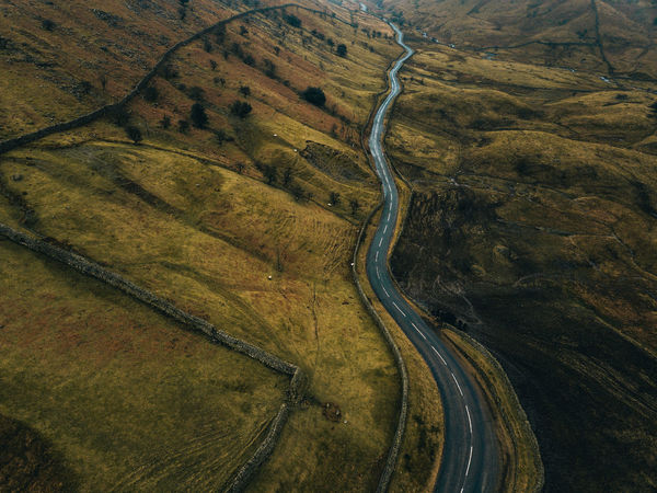 Curves. Drone  Dronephotography Uk View Backgrounds Full Frame Pattern High Angle View Textured  No People Aerial View Landscape Nature Day Outdoors Beauty In Nature