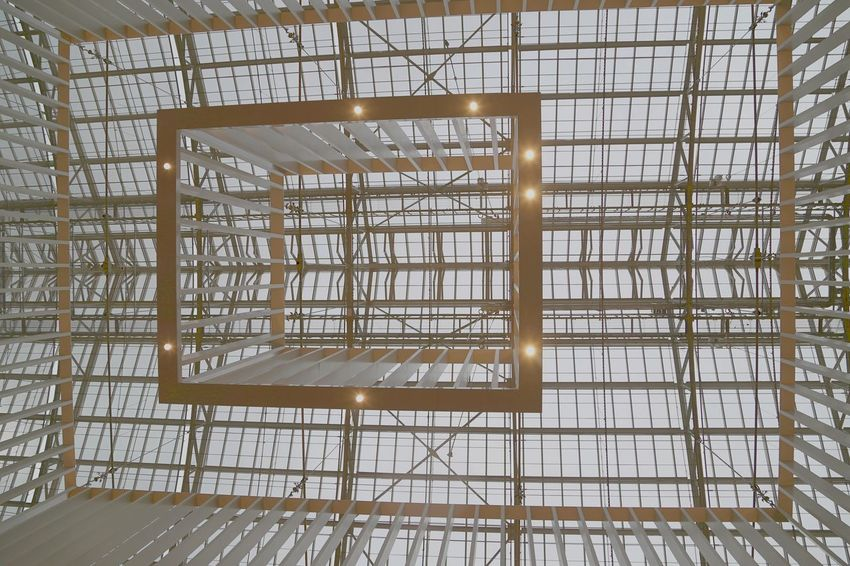 Architecture Modern Modern Architecture Day Indoors  Metallic Construction Museum No People Rijksmuseum Amsterdam Roof Top