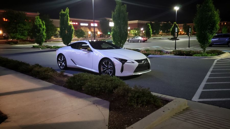 Sexy beast Night Nightphotography Nightlife Lexus Lexus Lc 500 Illuminated City Luxury Car Built Structure Vehicle Parking Parking Lot Land Vehicle Building Stationary