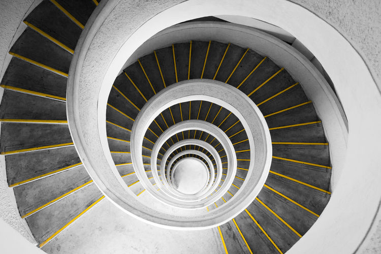 A spiraling