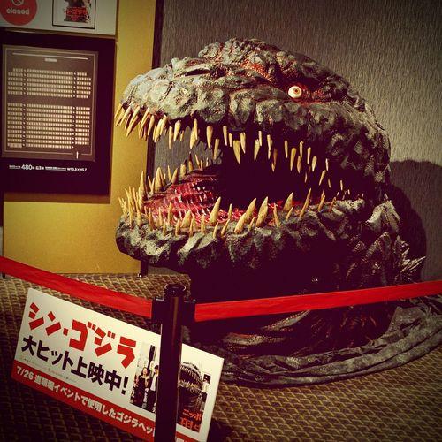 GODZILLA. 映画『 シン・ゴジラ』観てきました。ちょい怖で、面白い。 Japanese Movie Godzilla シン・ゴジラ Movie Theater Monster MOVIE Monster Film