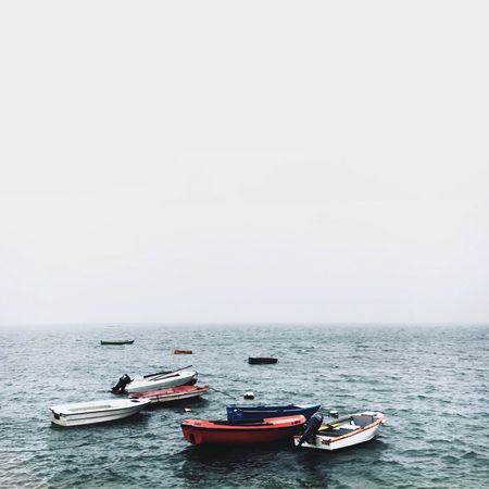Really love this moody weather IPhoneography Relaxing Winter Portugal Vscocam Portugaldenorteasul Algarve Sea EyeEm Iphone6s Olhao Boats