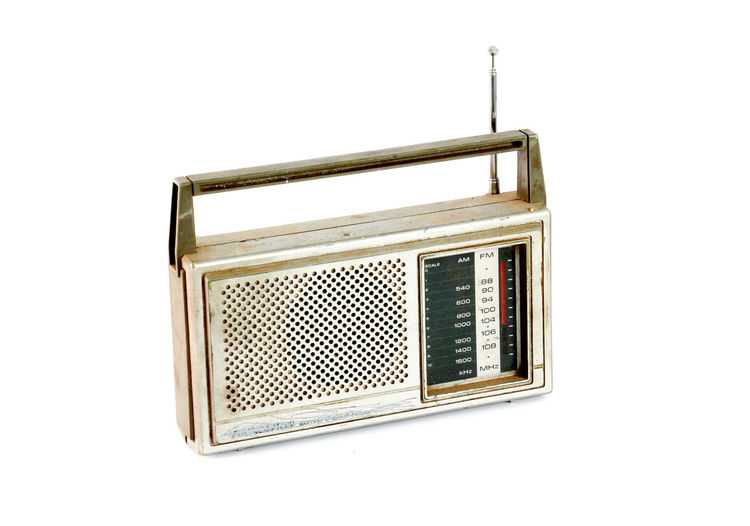 vintage radio,dusty and dirty Dusty Entertainment Music No People Old Radio Symbol Transistor Vinateg