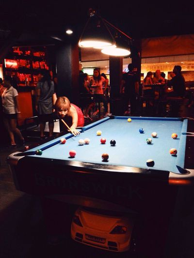 Bangkok Pool Bar Snooker 👀 8 Ball Nana :) Nana Plaza Bargirl Thai Thailand Bar 4 Sukhumvit 4