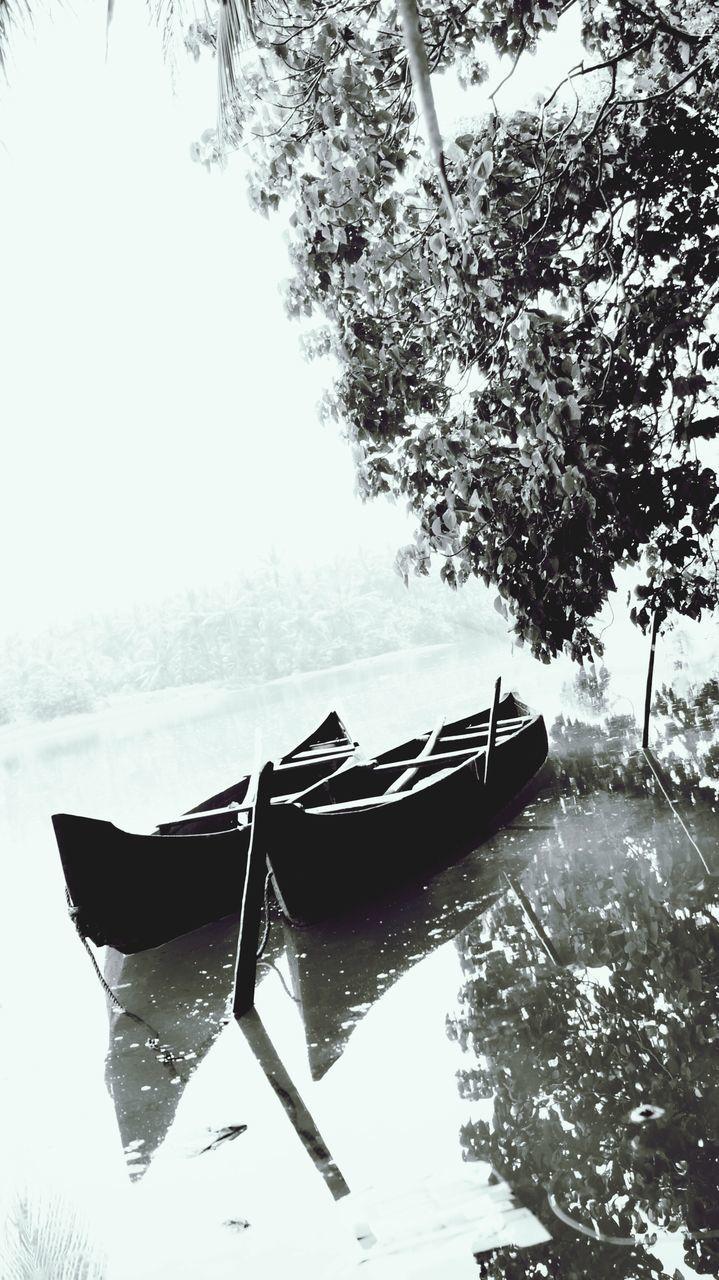 Moored Rowboats