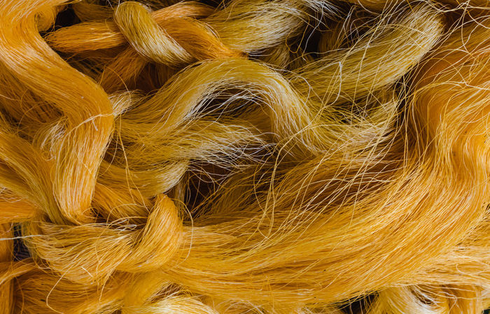 Floss Gold Backgrounds Brocade Close-up Cloth Complexity Day Full Frame Indoors  Material No People Silk Yellow