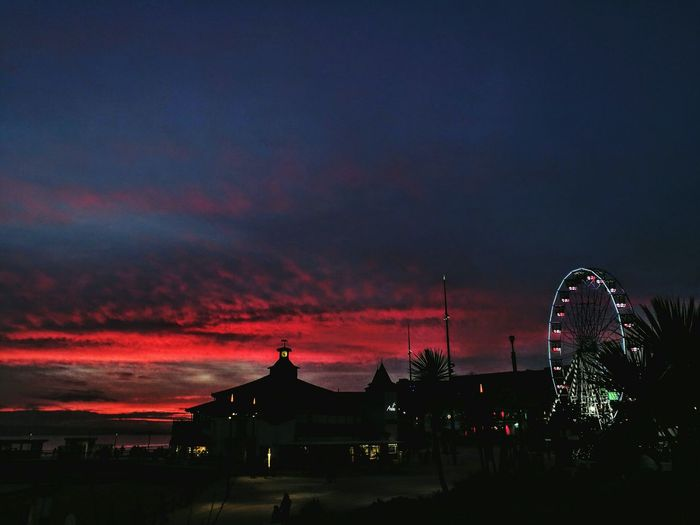Painting The Sky Beauty In Nature Magickingdom Red Sky Horizon Over Water Sunset Lovers Night Photography Best Of Nature Destinations My Medicine Love ♥ HuaweiP9