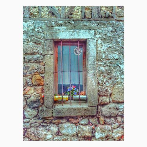 Bir pencere kadar renkli düşler. Window House Day No People Flower Outdoors New Life Myworld