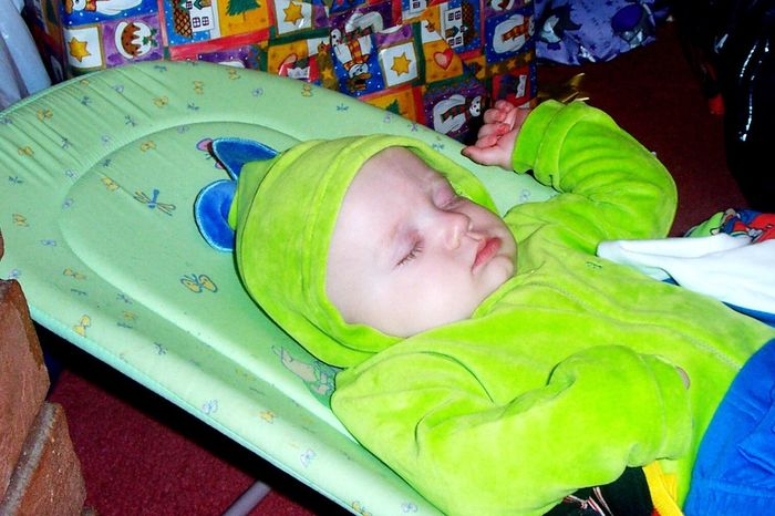 Childhood Sleeping Baby One Person