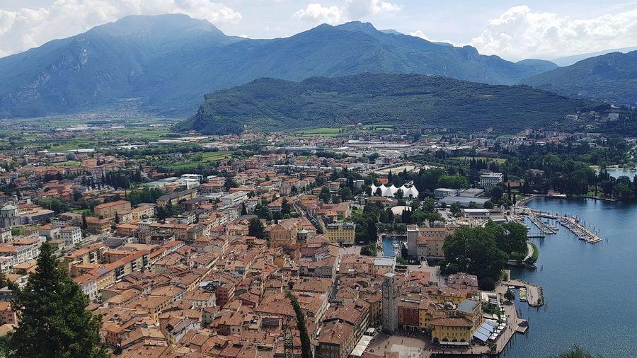 Riva del Garda Dolomites, Italy Alpes Garda Garda Lake Italia Gardalake Bestoftheday EyeEm Best Shots Riva Del Garda Bastione Tree Snow