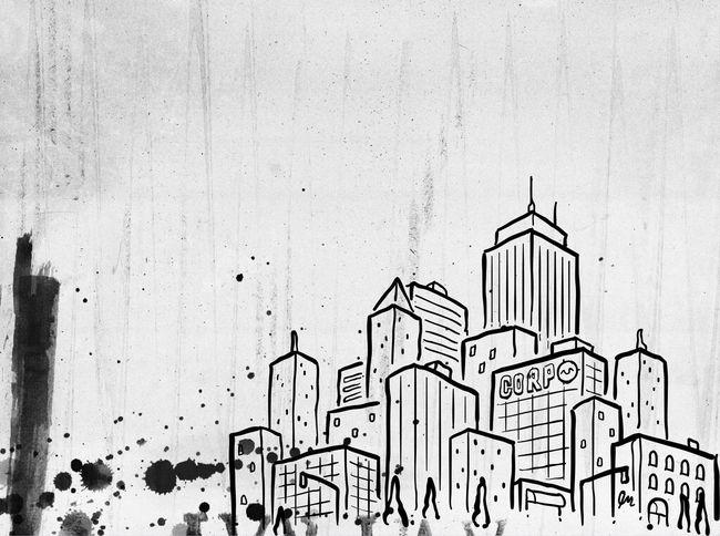 Art Art Gallery Illustration Abstract Art Art, Drawing, Creativity Urban Vintage Blackandwhite Black & White I Heart New York