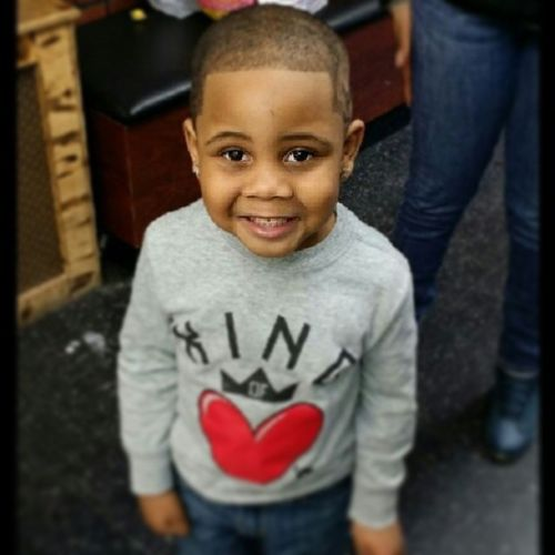 My nephew cut his hair :( Mynephewcuterthanyours