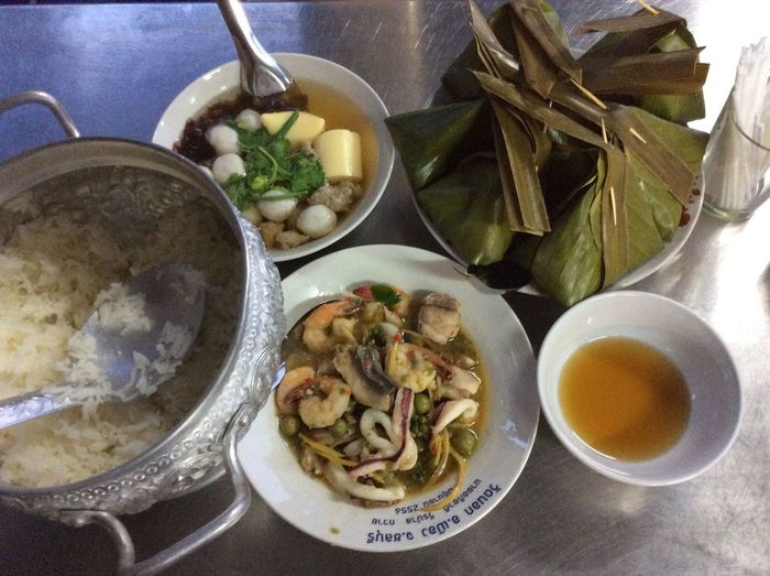 Funeral Ceremony Food for Guests Thai Food Thailandstyle Thai Cultural Tasty Delicious Hello World Eye Em Around The World We ❤️ Thailand NoEditNoFilter