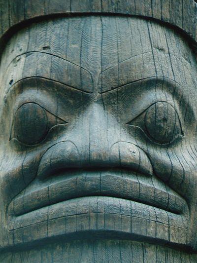 Totem sculpture