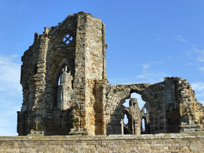 Abbey Abbey Ruins Ancient Civilization Arch Architecture Building Exterior Built Structure Day History Low Angle View No People Old Ruin Outdoors Place Of Worship Religion Sky Spirituality Stone Travel Destinations Whitby Abbey