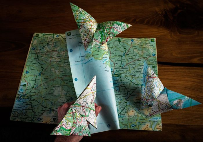 paper travels Perspective Popular Photos EyeEm Gallery EyeEmNewHere Eye4photography  EyeEm Selects Picoftheday Photography Photooftheday Creativity Creative Photography Canonphotography Close-up Studio Shot Still Life Origami Origamiart Hand Handmade Butterfly Arts Culture And Entertainment Map Travel Roadmap Page Pages Of A Book Turning Pages Taking Pictures The Still Life Photographer - 2018 EyeEm Awards