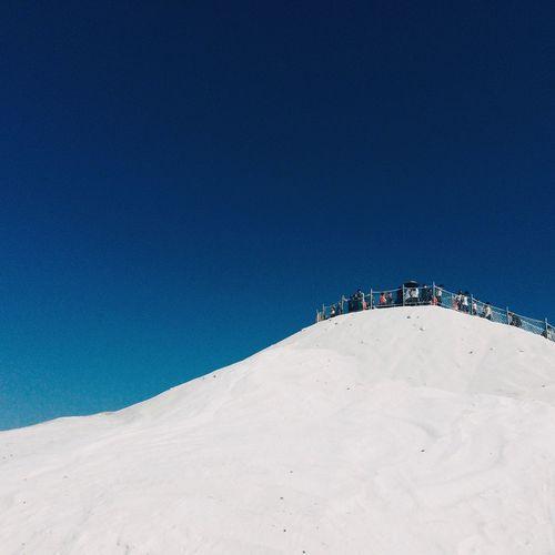 Saltmountain Salt Mountains Climbing A Mountain Taiwan Taiwanese Tainan