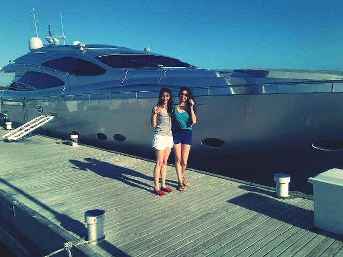 My kind of monday Boat Ride Enjoying The Sun Sisterhood Dominican Republic