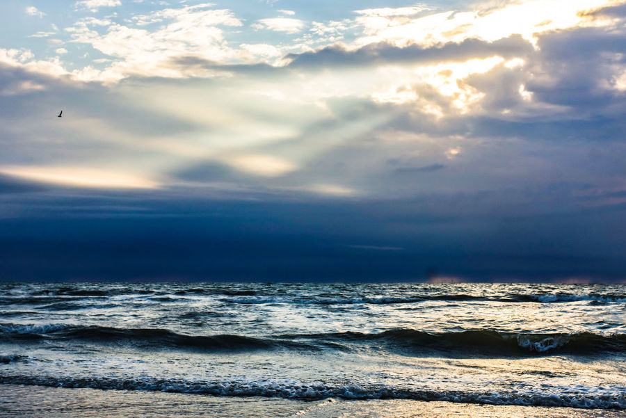Sunrays Clouds And Sky Tranquility Beauty In Nature Hand In Hand You And Me Scenery Travel Before Sunset Nature Enjoying Life EyeEm Best Shots Water Wave Sea Beach Sand Horizon Over Water Cloud - Sky Landscape Seascape Idyllic Atmospheric Mood Scenics Dramatic Sky Calm Tranquil Scene Coast