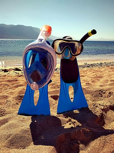 Snorl and Kel Canary Islands Isla La Graciosa Beach Sand Sea Day Outdoors Summer Sunlight Summer Exploratorium