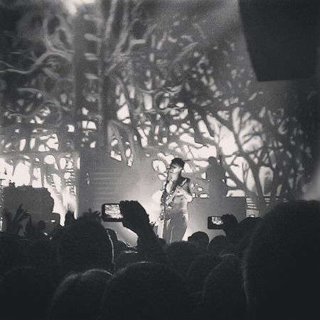 Biffy :) thankyou for yet another mindblowing night! Mycamerastories Biffy BiffyClyro AECC livemusic tree performance amazing instascotland igscotland gig lovedeveryminute oooft simon