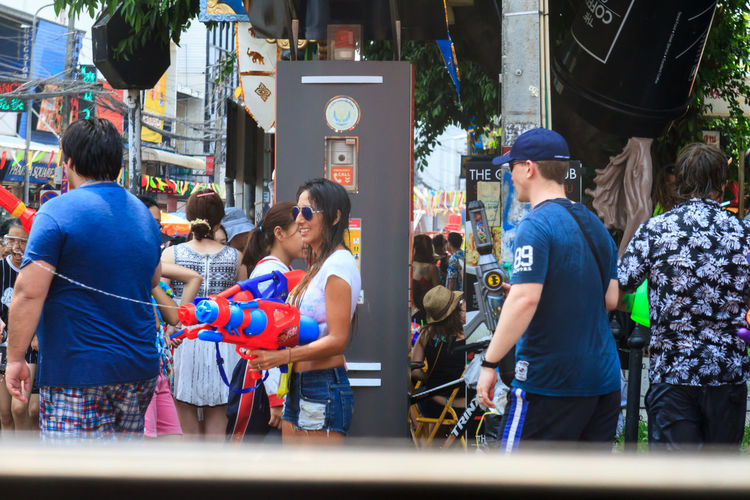 Chiang Mai Chiang Mai | Thailand Faces Looking At You Mayhem  Party Smiles Songkran Songkran 2016 Songkran Festival Splash Street Party Street Photography Street Scenes Street Style Thai Style Thailand Water Fight Water Garden