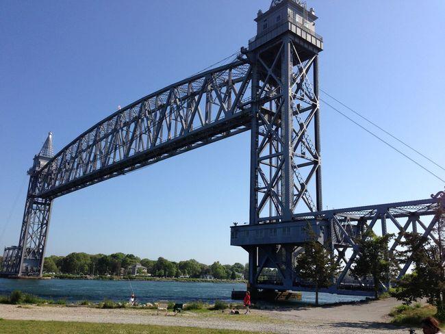 Train Bridge Train