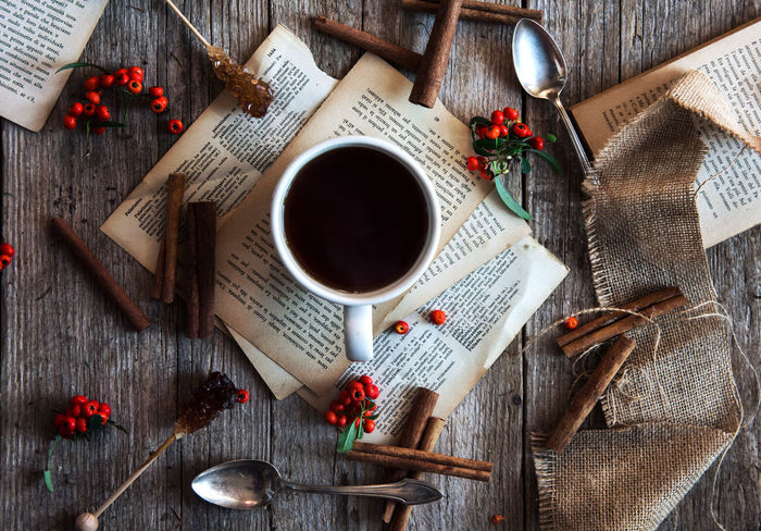 Cinnamon Close-up Cup Directly Above Drink Flatlay Food And Drink Indoors  No People Red Sweet Food Table Tea - Hot Drink Tea Cup Food Stories
