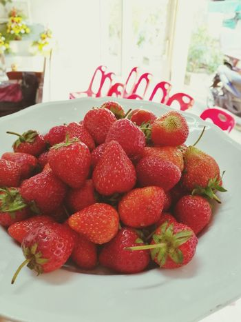 Yummy... Fruit Red Freshness Sweet Food Healthy Eating Ready-to-eat Day Food