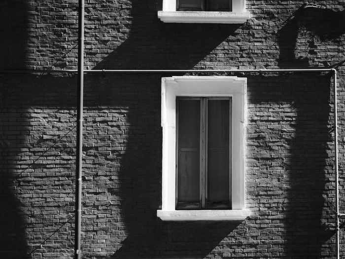 Silent town Abstract Architecture Details Black And White Photography Building Exterior Architecture Built Structure Architecture Exterior Cityscape Photography Day Mood Lighting  No People Outdoors Silence Moment Urban