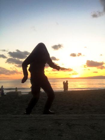 ジャミラ邪魔w Beach Jamira Light And Shadow My Unique Style Selfie Sillouette Sunset