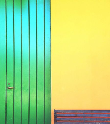 Green Color Door Corrugated Iron Backgrounds Still Life Architectural Detail Minimalism Simplicity Simple Elegance Yellow Minimalist Architecture Wooden Door Contrast Colorful Vertical Composition Lines And Angles Abstractions In Colors Abstract Design The Graphic City Visual Creativity Creative Space 10