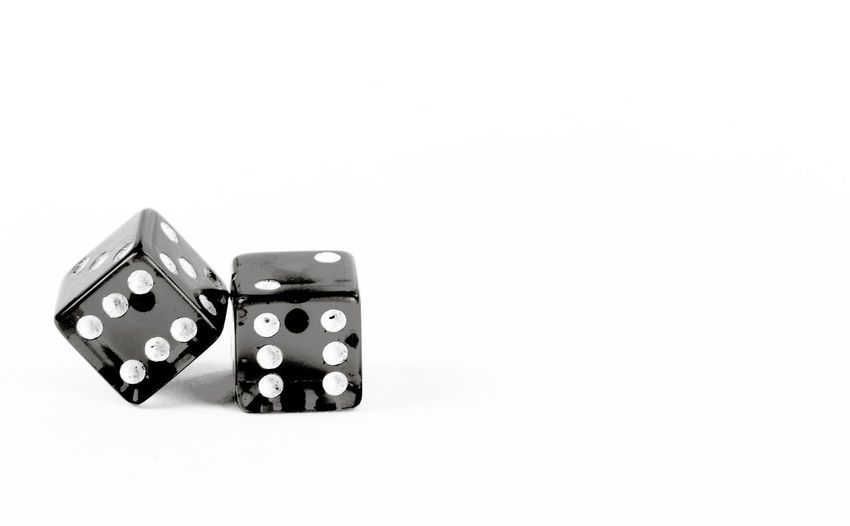 Hard Twelve Black And White Black And White Photography Dice Gambling Game Games Ideas Indoors  Negative Space Pair Pair Of Dice Pair Of Die Playing Rolling Rolling Dice Single Object Sixes Still Life Studio Shot White White Background