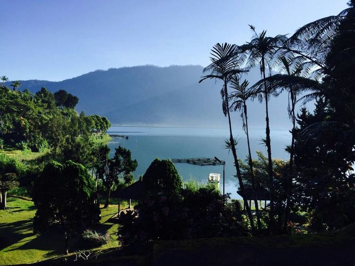 Sunrises Beauty In Nature Visitindonesia Visitbali @bratanlake