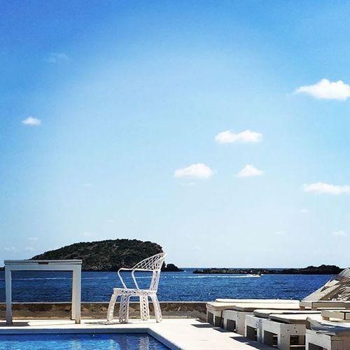 Sky Blue Cloud Vista Ibiza Studioview