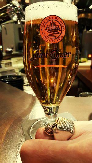 Paris ❤ Tetedemort That's Me Enjoying Life Bier Ring Bague