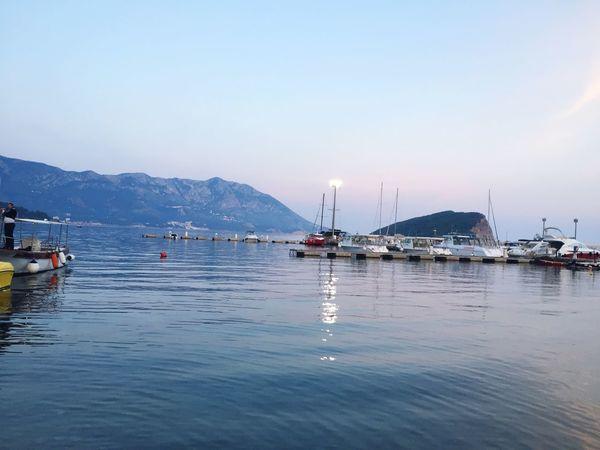 Budva Montenegro 🇲🇪 Beauty In Nature Water Sky Sea Budva Montenegro Nature EyeEm Best Shots EyeEmNewHere EyeEm Nature Lover