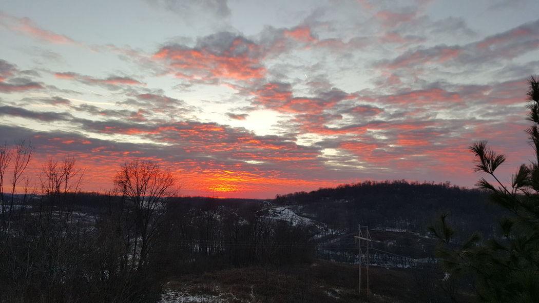 Sunset Southpointe January14 Beautiful Day Beautiful Nature Nofilter Winter